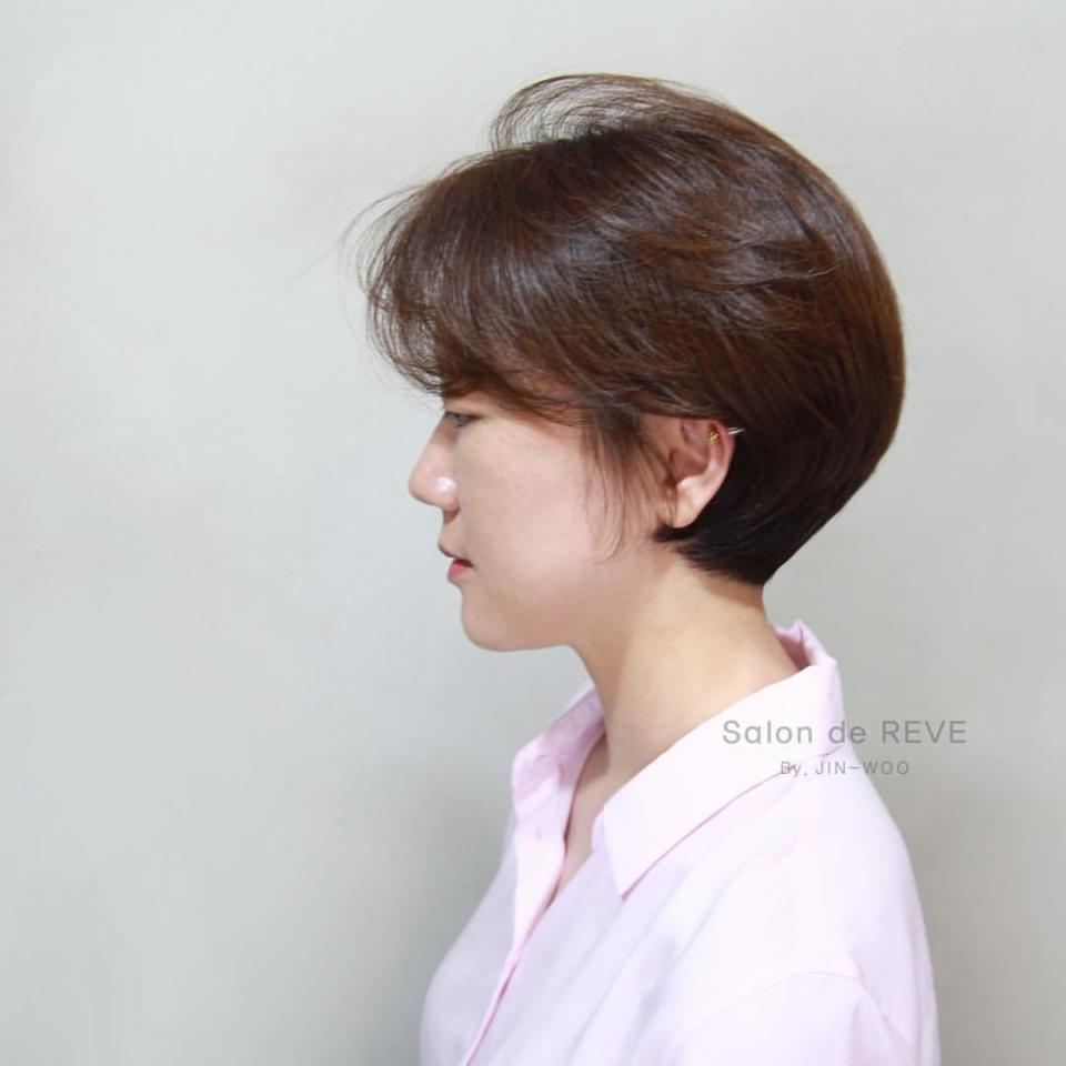 过新年剪这十款短发发型,随便打理也有型学生烫发多少钱图片