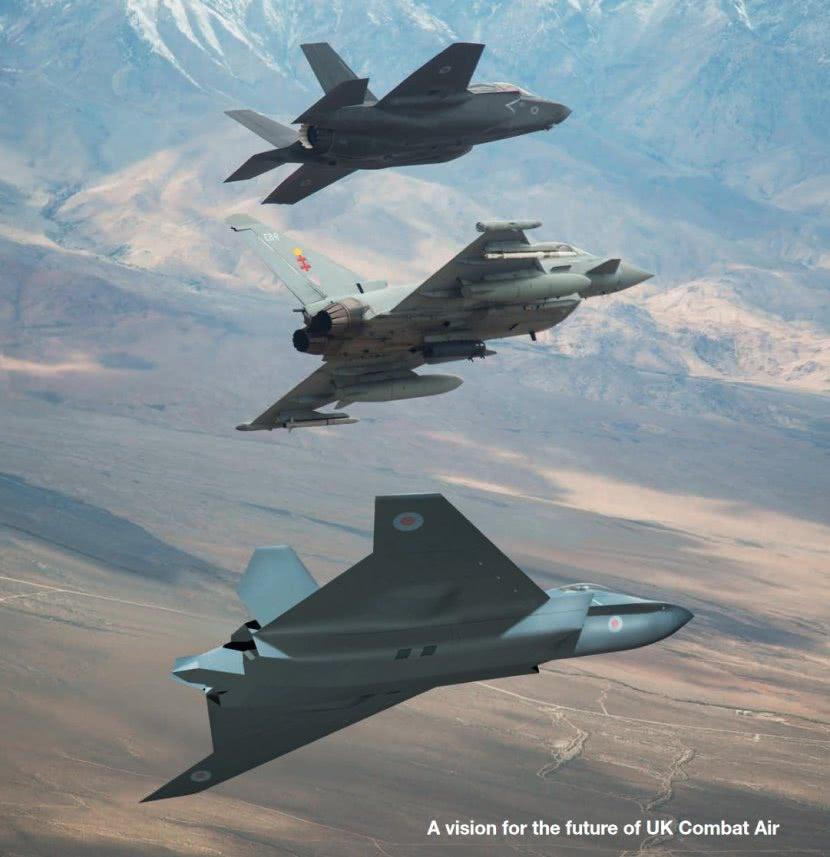 英国邀请印度合研第六代战机 性能远超F22和歼20