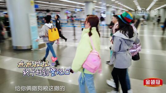 《妻子的浪漫旅行2》张嘉倪身背Obag显独特包品