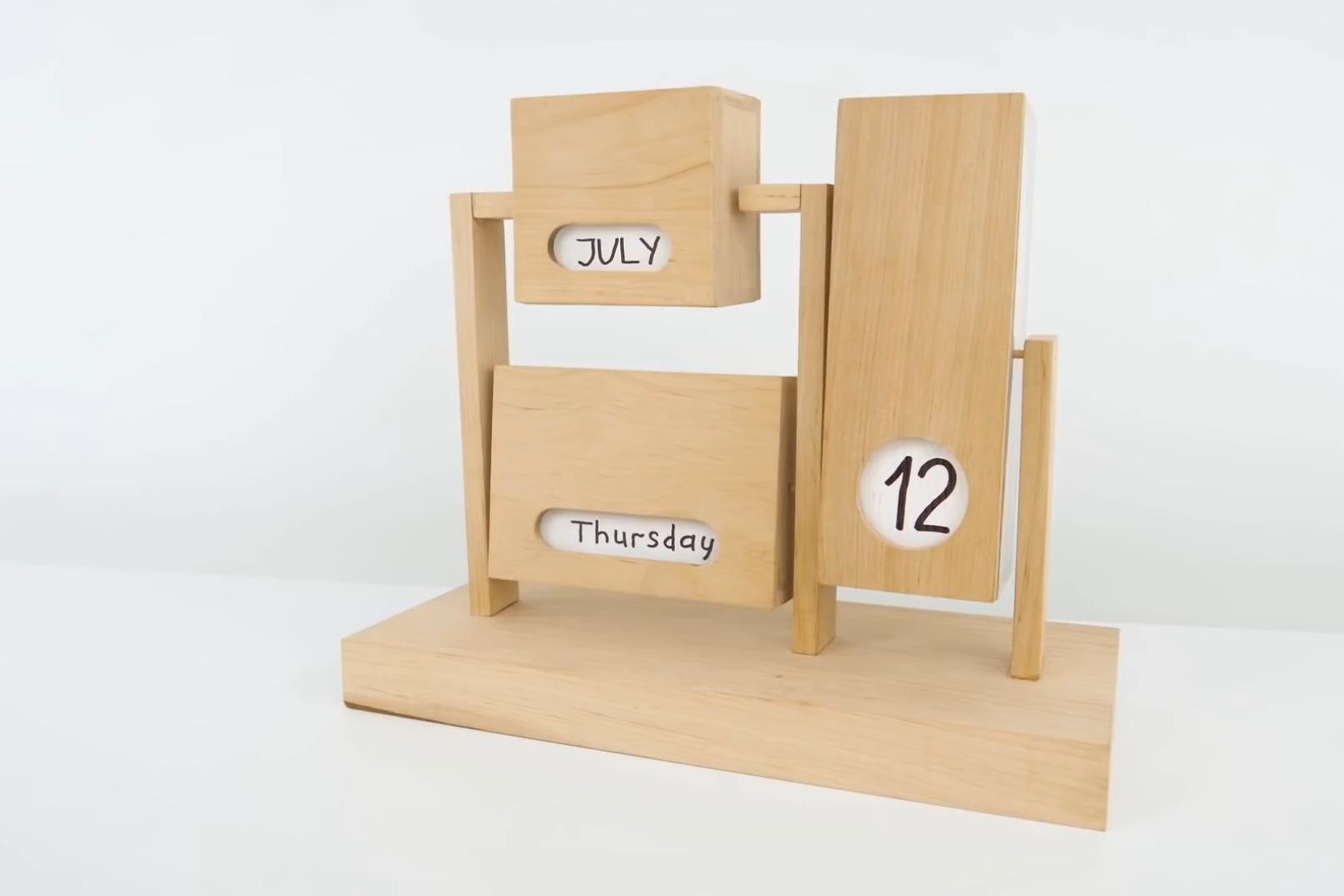 教大家手工制作日历:精致,简单,实用