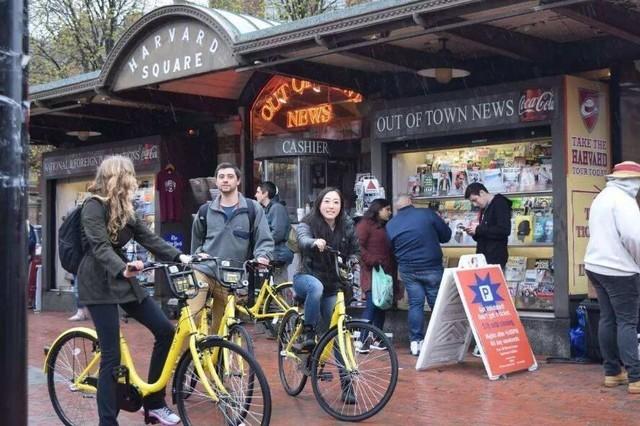 美国共享单车半小时3美元网友:幸福的中国人