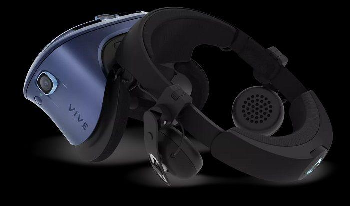 HTC披露Vive Cosmos VR更多细节:6摄像头 上翻式设计