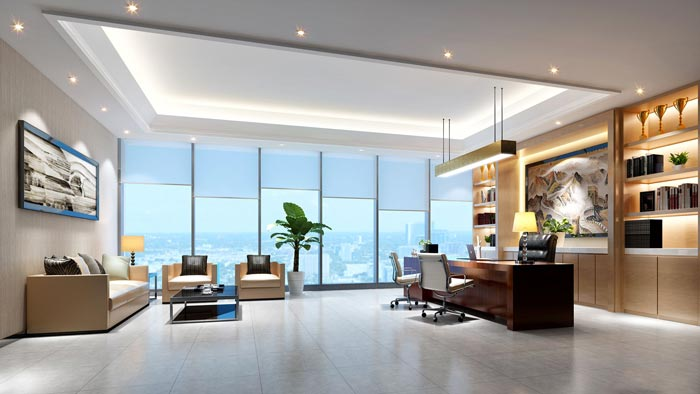 色彩选择办公室设计
