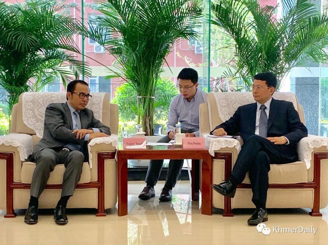 柬中签署2600万美元协定换文