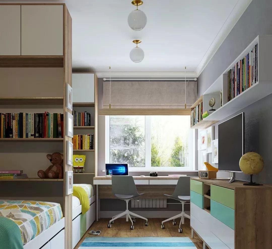 6-12岁学龄期儿童房这样设计,才更符合成长需求!