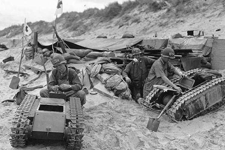 遥控自爆坦克装百公斤炸药 为何美军只当是玩具?