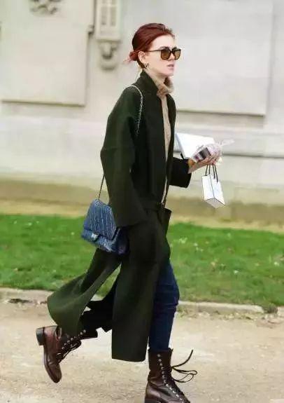 指南马丁靴搭配冬冬季酷girl女生女生壶奶的图片