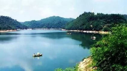 青木川自然保护区有大片原始森林,是天然的动植物上天堂.