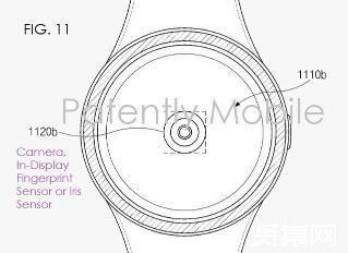 三星智能手表专利显示