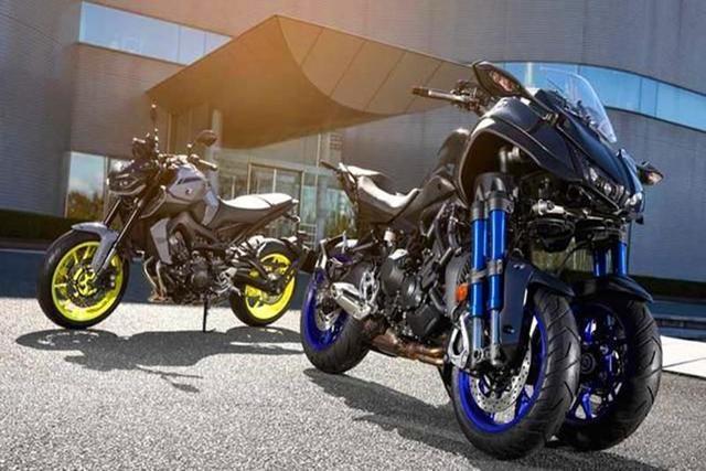 """自称""""牢不可破""""的日本摩托车采用了雅马哈LMW三轮车技术。"""