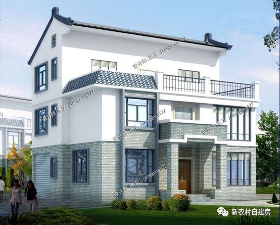 用别具一格的现代手法表现出来,成了更适合现代人居住的新中式别墅.图片