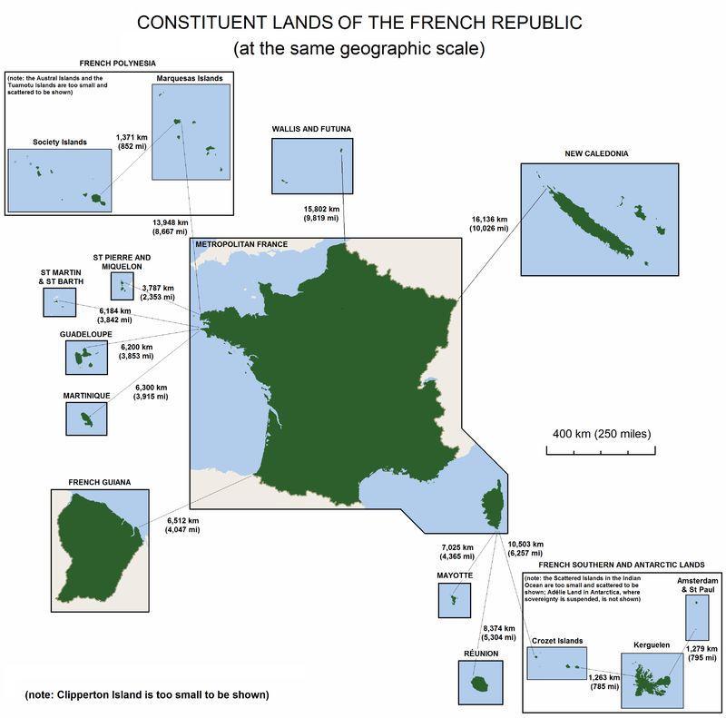 作为殖民大国:为何法国至今还保留着最多的海外领地?
