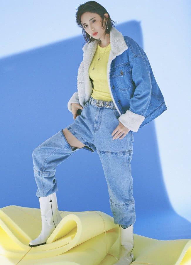 【滚动】古力娜扎穿搭再走在时尚前沿,裤子竟然少了一条腿怎么回事?