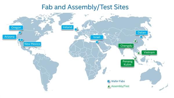 Intel爱尔兰兴建11万平方米工厂:投资80亿美元