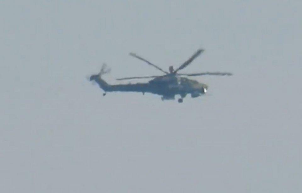 俄最新的米-28NM攻击直升机首次在叙作战中出现