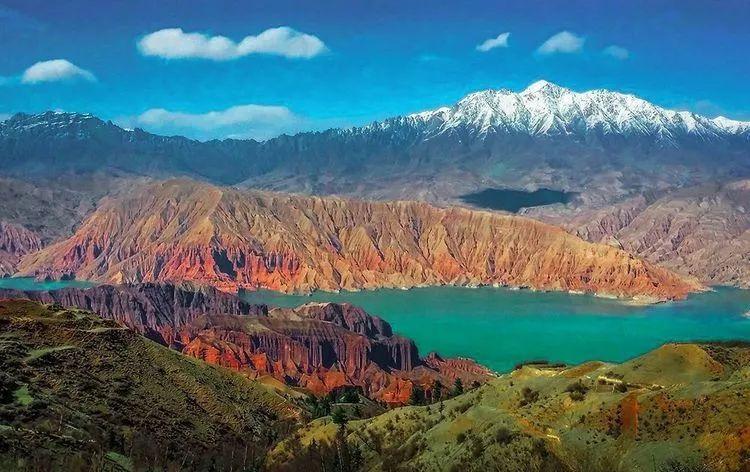 青海省尖扎风景