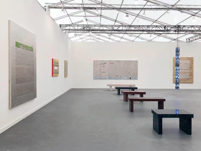 2019frieze纽约,豪瑟沃斯画廊展位现场