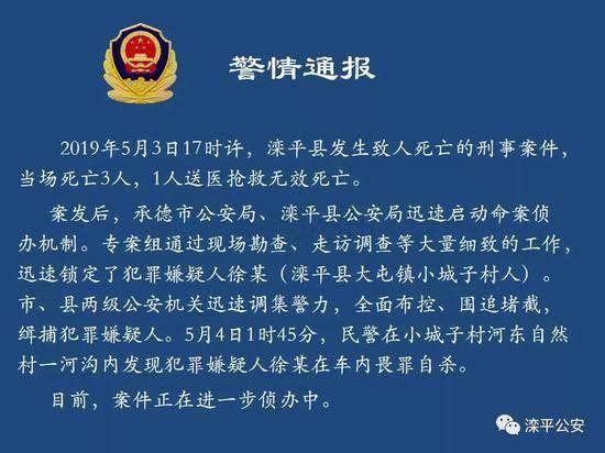 转载:河北滦平谋杀案的细节是什么?