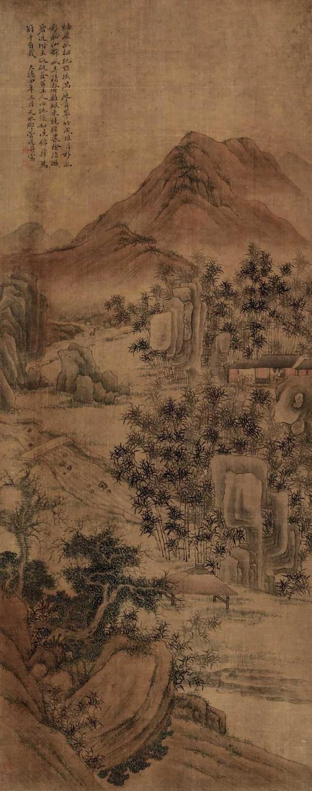 她是书画名家赵孟�\之妻,被尊称为管夫人-元代书画家管道升