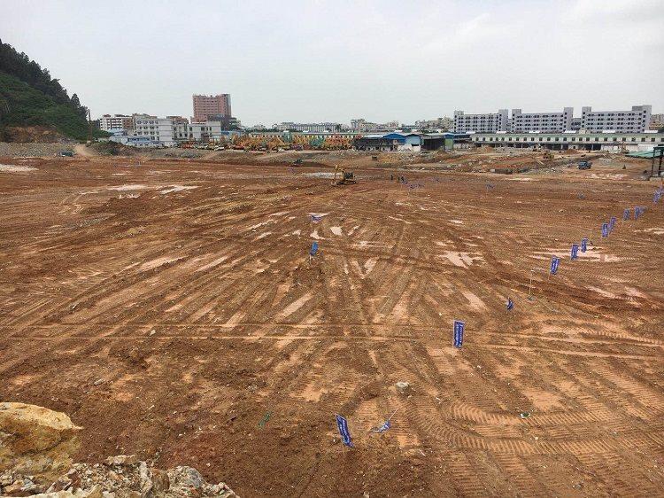 深圳市工程机械工业园破土动工