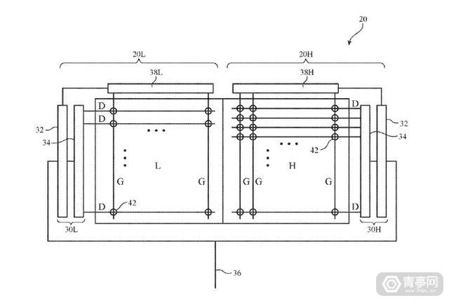 苹果新专利:ppi可达2000,用于AR/VR的双屏注视点渲染方案