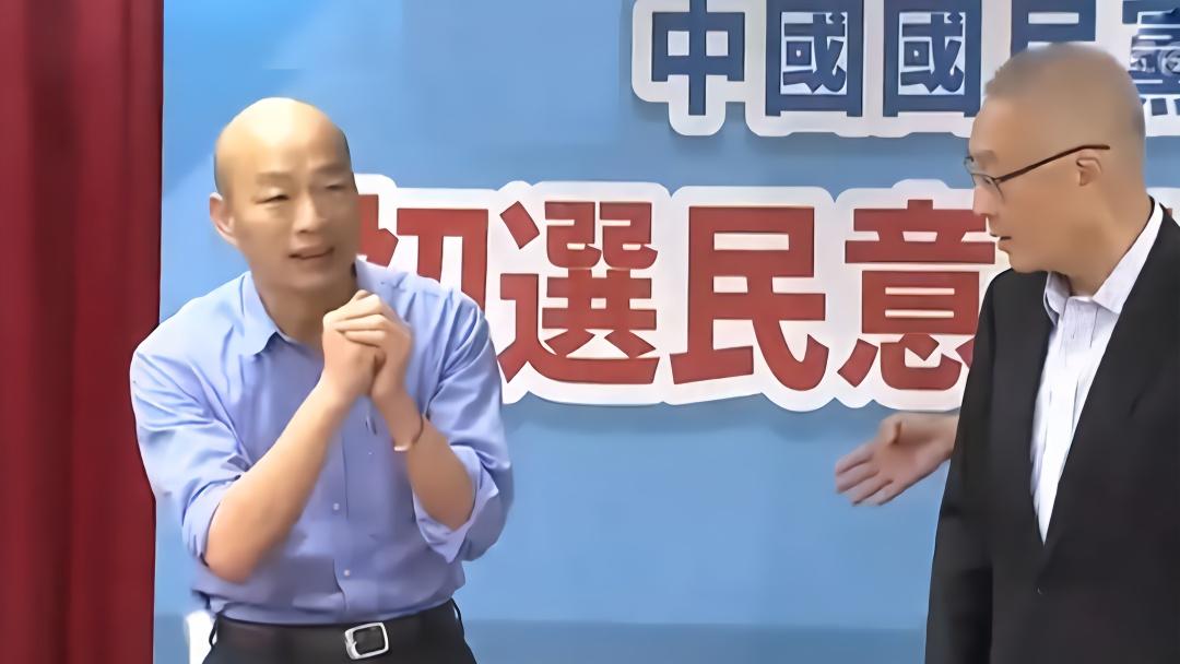 韩国瑜压倒性优势拿下国民党初选 郭台铭却不见了