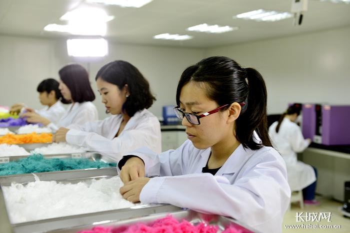 [壮丽70年·奋斗新时代]三友化纤公司:创新驱动 引领绿色 纤维未来