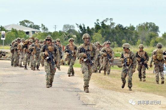 制衡中国计划稳步推进,美军驻澳大利亚人数已达2500人