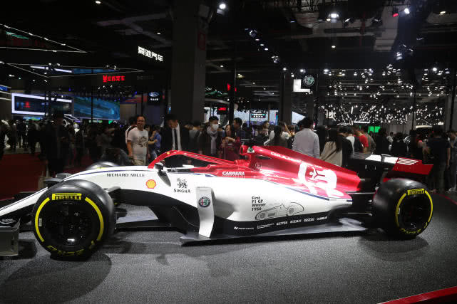 阿尔法-罗密欧全新C38赛车,尽展赛场风范,上海车展实拍!