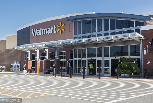 美国电商竞争升温,沃尔玛今年有望超越苹果,成第三大在线零售商