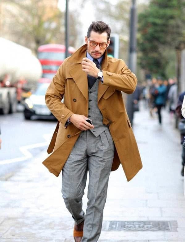 范丞丞穿卡其色大衣老干部单品穿出帅气感丞丞是行走的衣架!