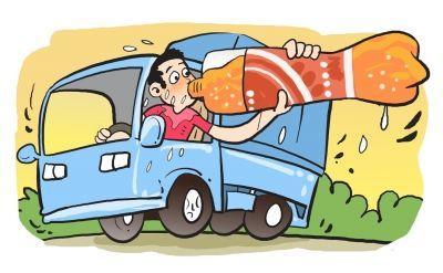男子开货车累了 竟在高速服务区豪饮3瓶二锅头提神