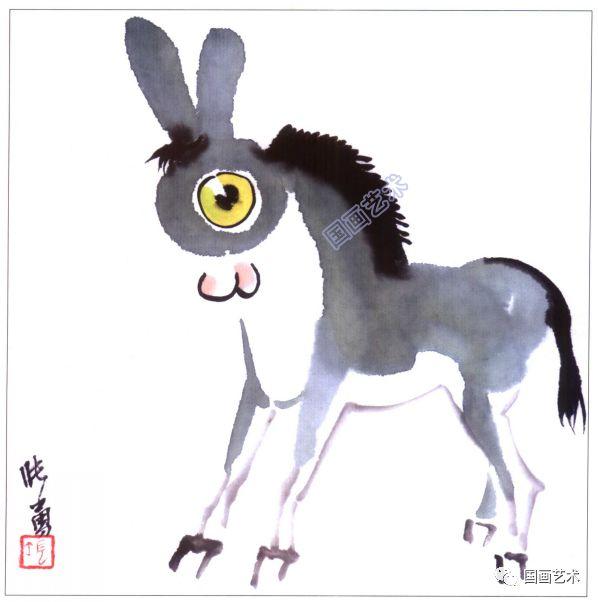 儿童国画入门,可爱的动物一学就会画