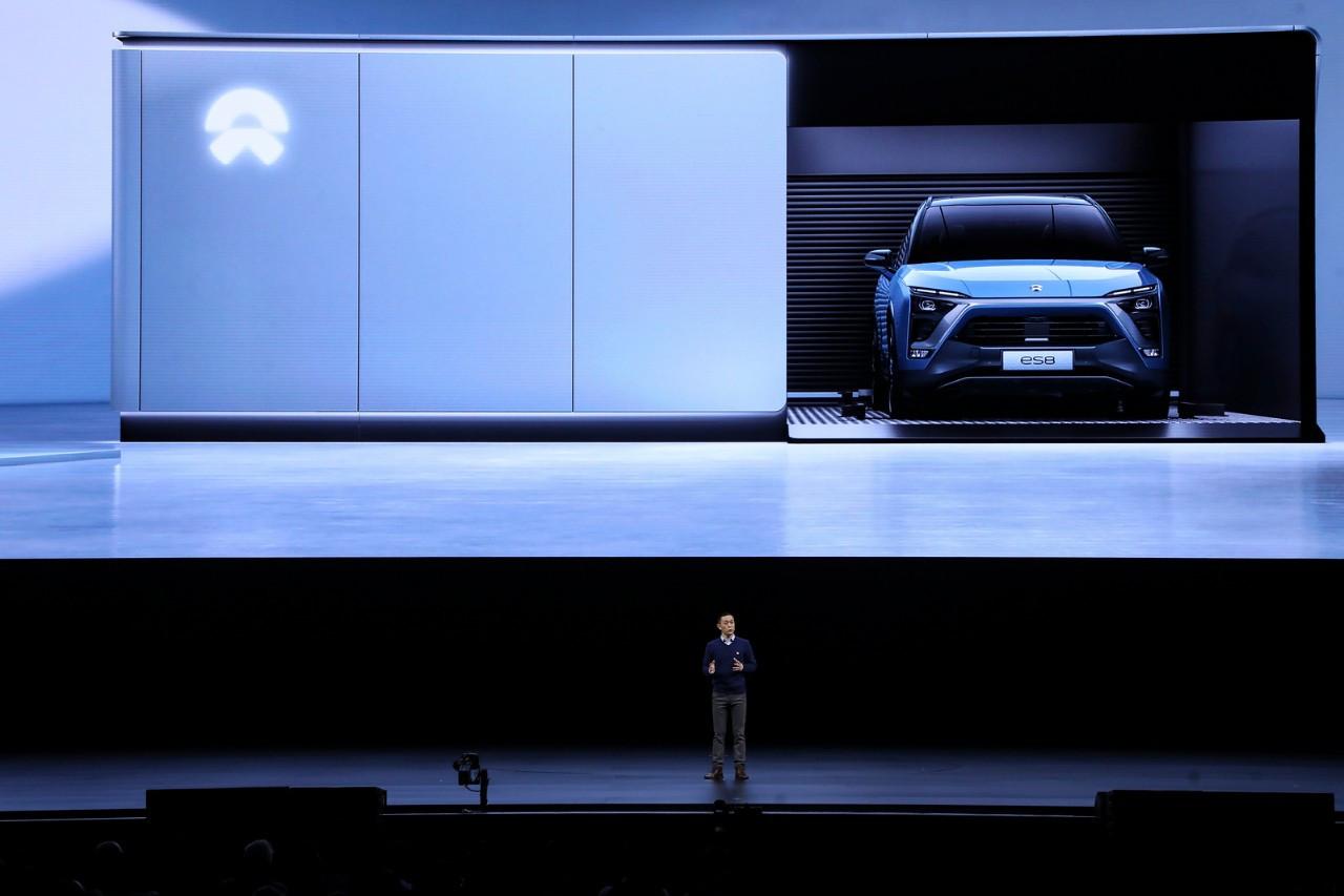 靠谱表现二:蔚来汽车专注中国市场图片