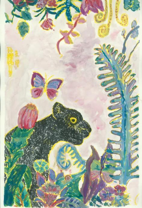 孙樱铭《动物世界》