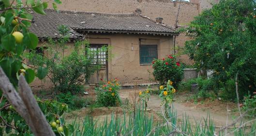 农村钢结构凉棚图片