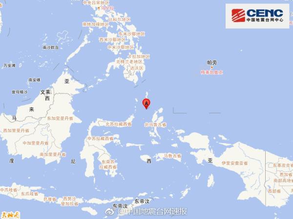 印尼附近海域发生6.6级地震 触发海啸预警