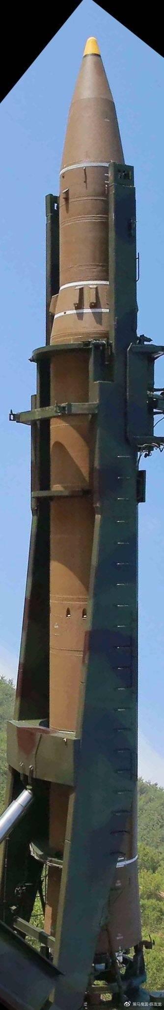 """""""火星""""-14导弹采用两级火箭设计"""