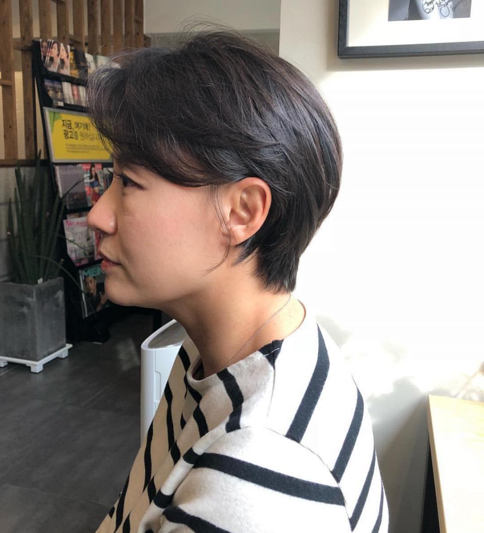 过新年剪这十款个人发型,随便打理也有型为什么变成短发像换了一短发图片