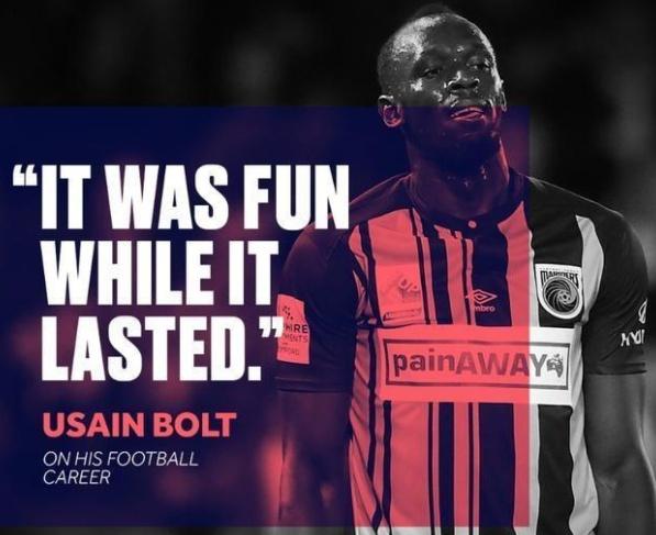 博尔特正式宣布退役!从田径转型足球彻底失败