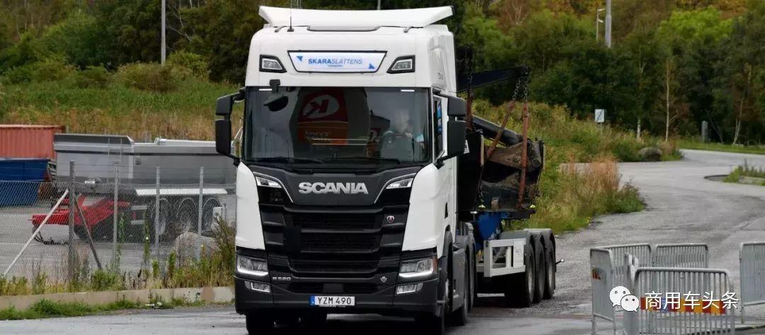 油耗2/3看卡车1/3看司机  新一代斯堪尼亚