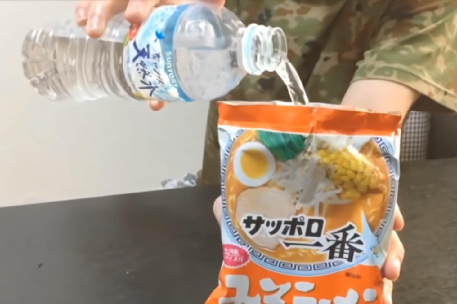 """日本发明""""救灾泡面""""?可用冷水泡开,一袋却卖15000日元"""