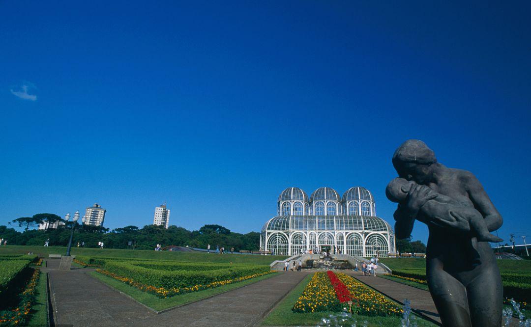 在库里提巴水晶宫植物园重回少年时光