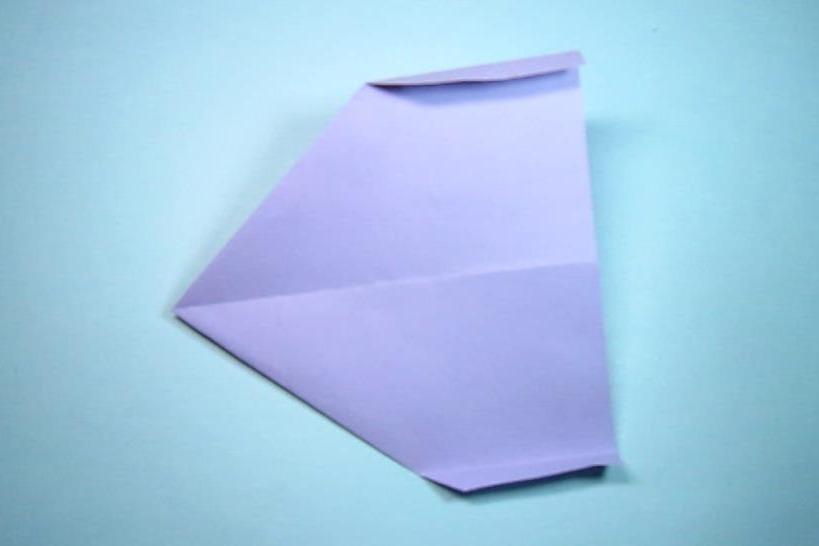 手工折纸,飞机的折法,简单一学就会,能在空中飞很久的纸飞机图片