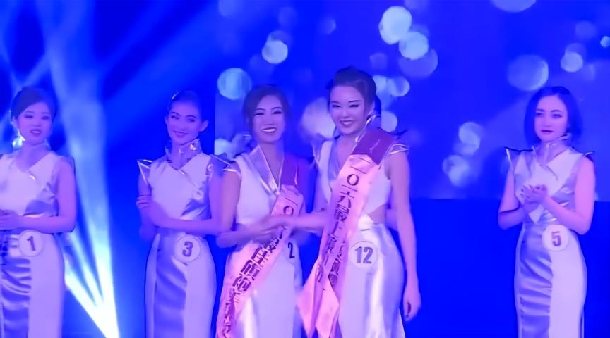 中国选美大赛_中国小姐选美大赛总决赛比基尼礼服走秀精彩片段四
