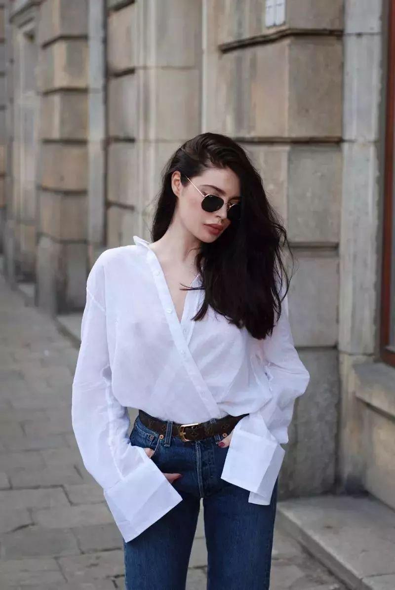 这个春夏,白衬衫必须这样搭,让你分分钟穿出高级感!