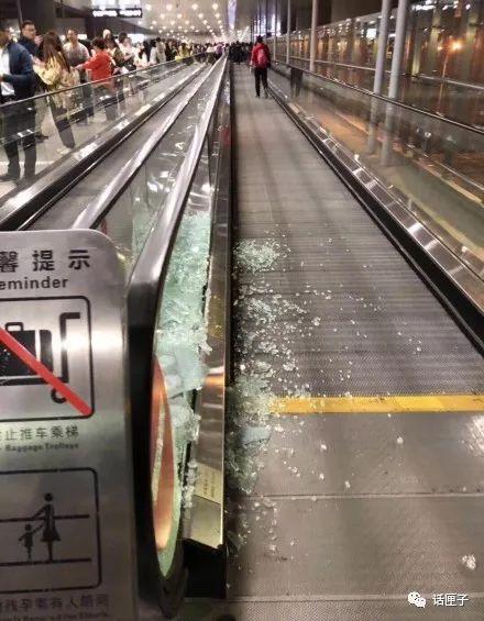 上海虹桥机场玻璃被追星粉丝挤碎,公安部发声