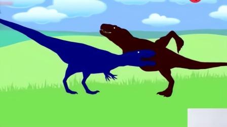 侏罗纪世界 恐龙世界 恐龙动画 霸王龙 恐龙乐园视频42图片