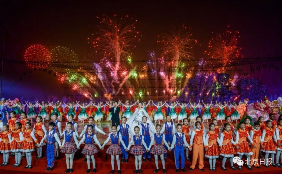 北京世园会惊艳开幕!