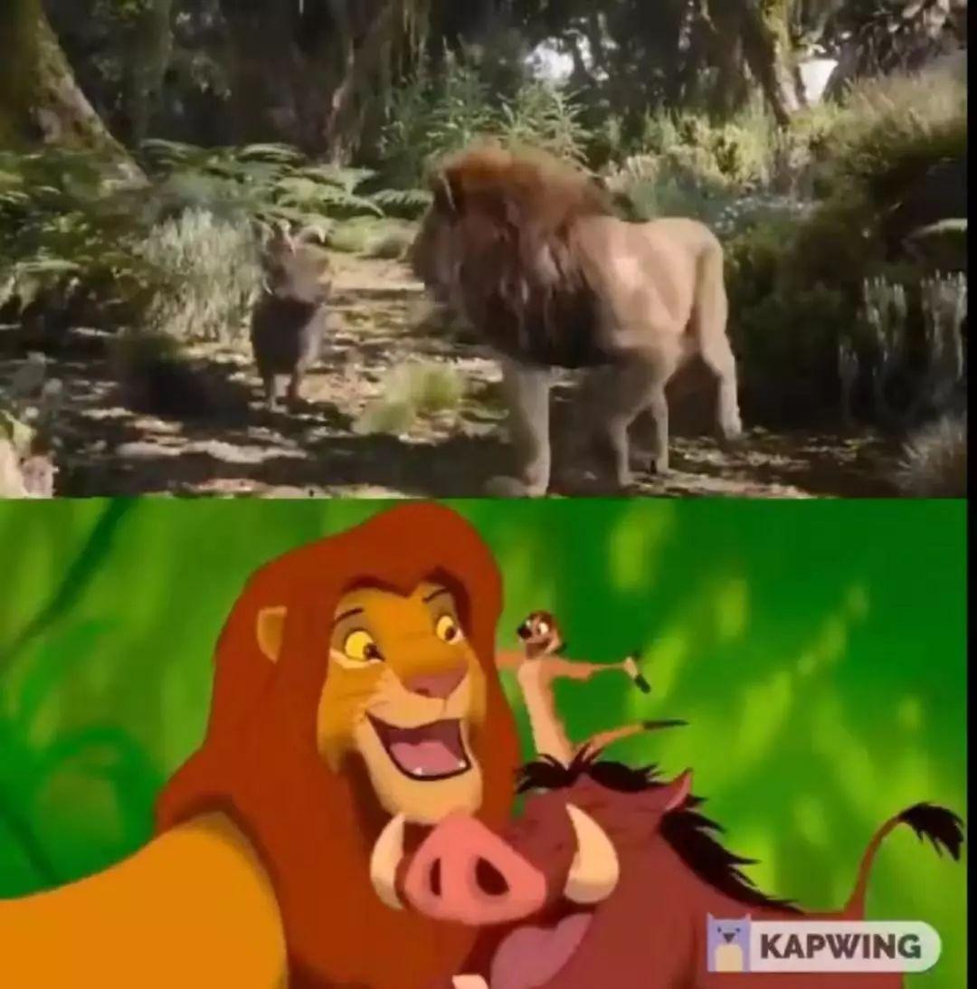 真人版《狮子王》全员面瘫迪士尼还要靠情怀圈几何钱?